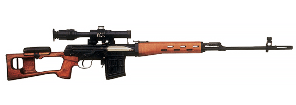 Dragunov Russian Sniper Rifle