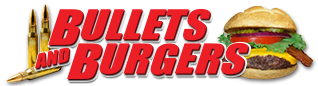 Bullets and Burgers | Las Vegas Shooting Range | Shoot A Machine Gun Or 50 Cal Today Logo