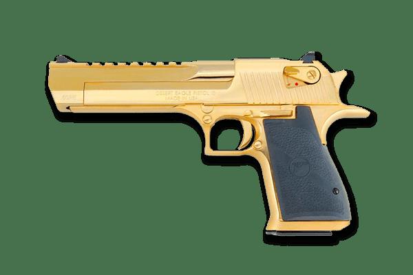 Desert Eagle .50 Cal GOLD