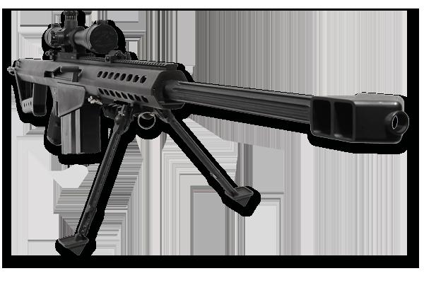 BARRETT M82 A1 .50 CAL SNIPER RIFLE