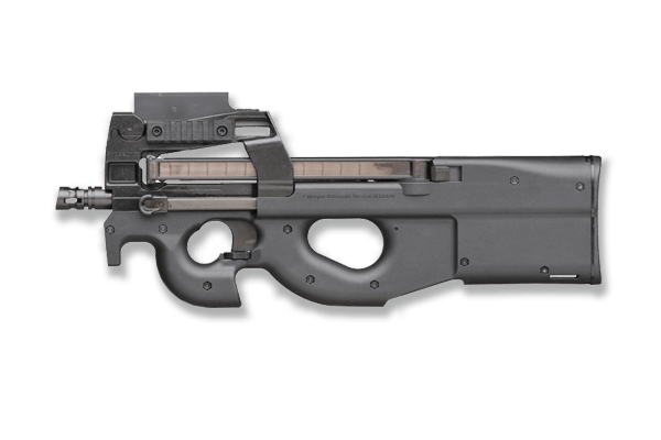 fn-p90 submachine gun