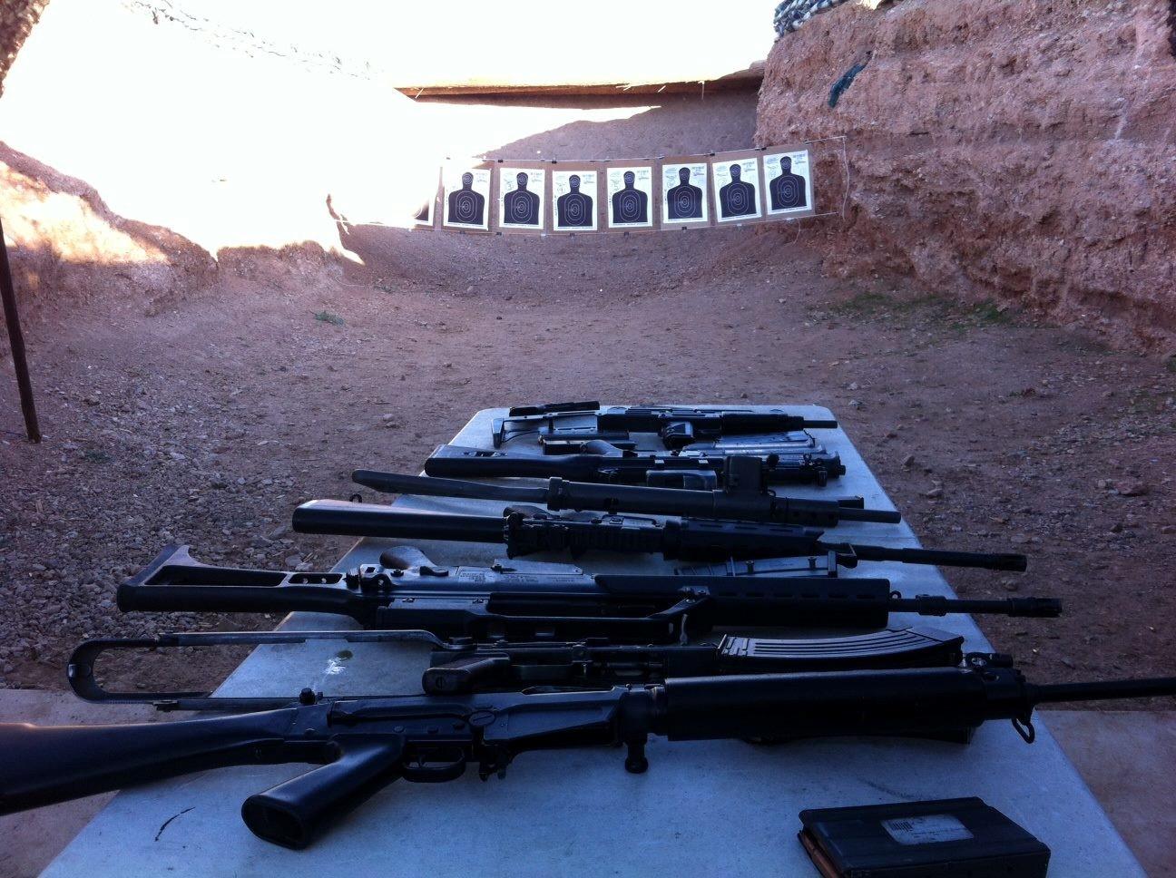 Photos Of Our Machine Guns Bullets And Burgers Las Vegas
