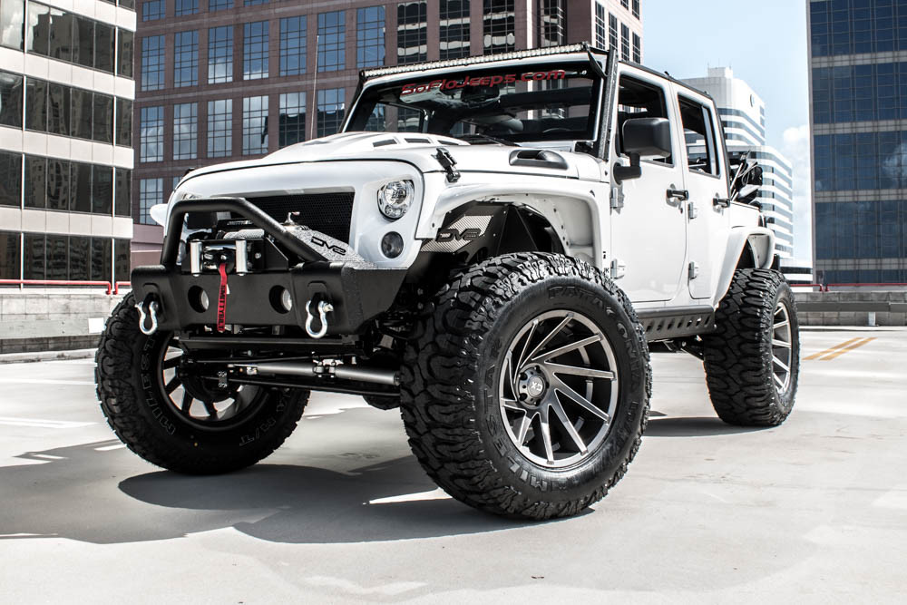 2017 Jeep Wrangler JK Lifted